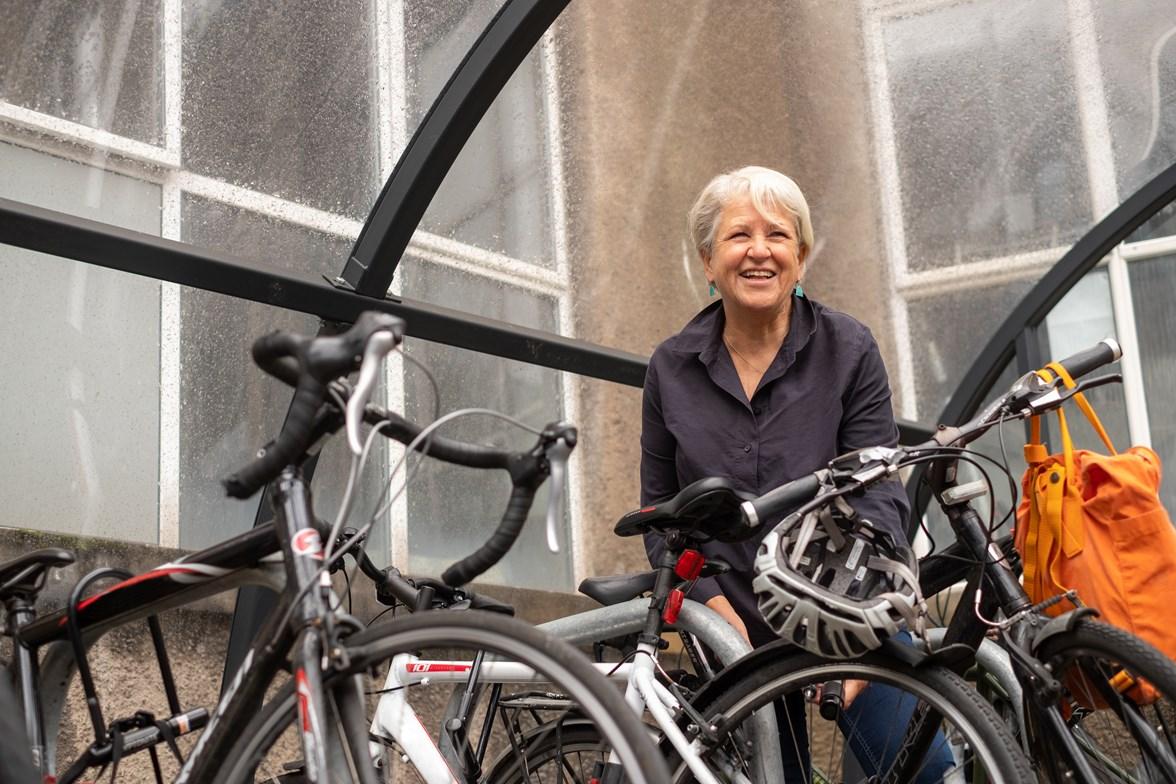 Bike Parking at Summerhall
