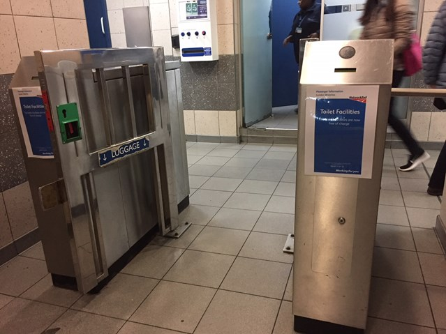 Free to pee at Waterloo station's toilets, thought to be country's busiest public convenience: Waterloo free toilets