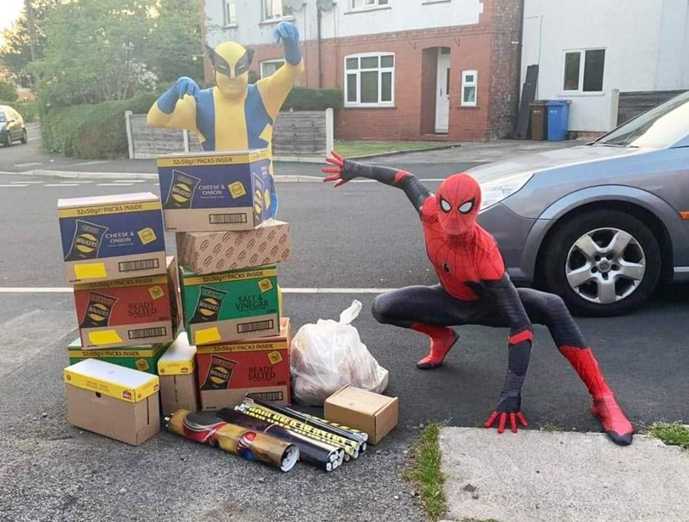 Spider-Men Treats