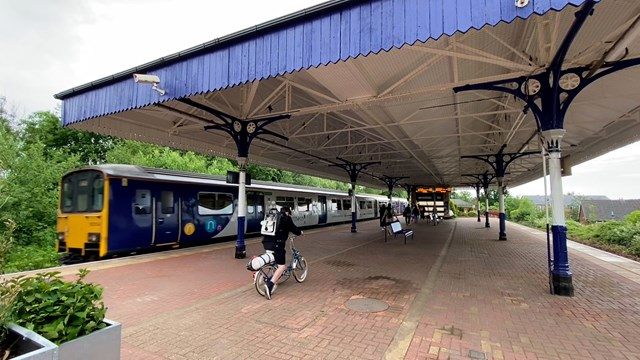 Heritage stations restored for Manchester to Wigan passengers: Walkden Station main image