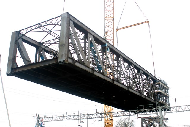 Rugby Birdcage Bridge Removal