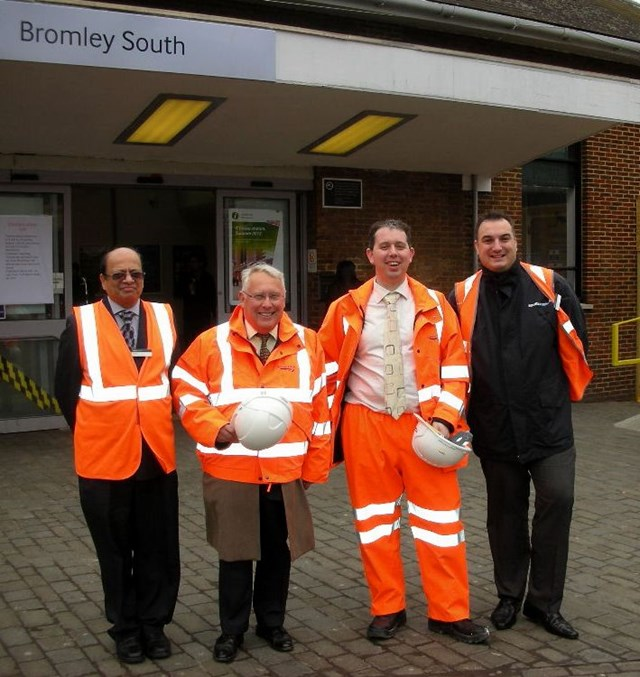Bob Neill MP visits Bromley South station