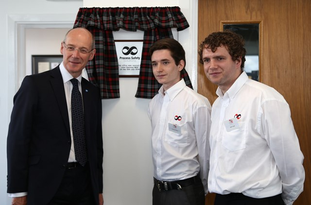 40 jobs for Wick: Finance Secretary John Swinney officially opened Process Safety Solutions' (PSS) new offices as the company announced it will create up to 40 jobs by summer 2017.