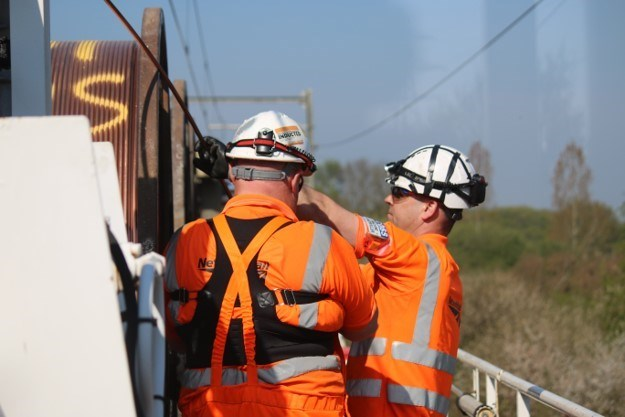 Passengers thanked following Easter rail upgrades across Anglia: SSV OLE Easter Saturday2