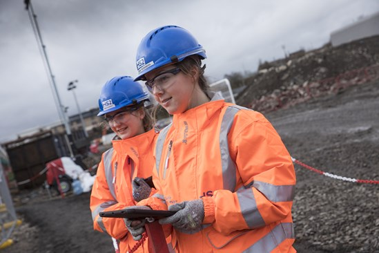 HS2 offers work experience to students who deferred their university places: CSJV works progress at Old Oak Common