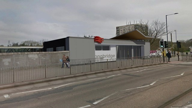 £1.7 million station refurbishment underway at Longbridge: Longbridge Station