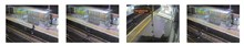 CCTV - West Worthing: Shocking image of a young woman risking her life on the tracks at West Worthing station