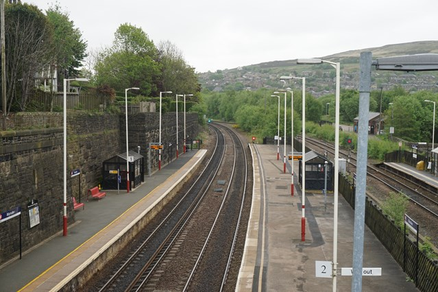 Project to improve accessibility at West Yorkshire station gets underway: Marsden Platform-2