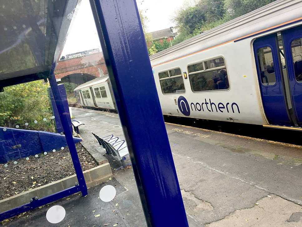 Northern extends penalty fares to new routes: Moston refurb train 1