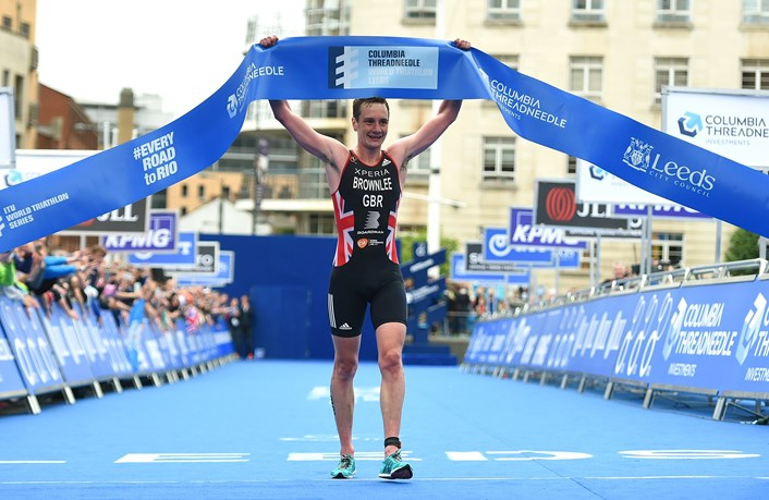 ITU World Triathlon Series coming to Leeds and the UK again in 2017: brownleewins.jpg