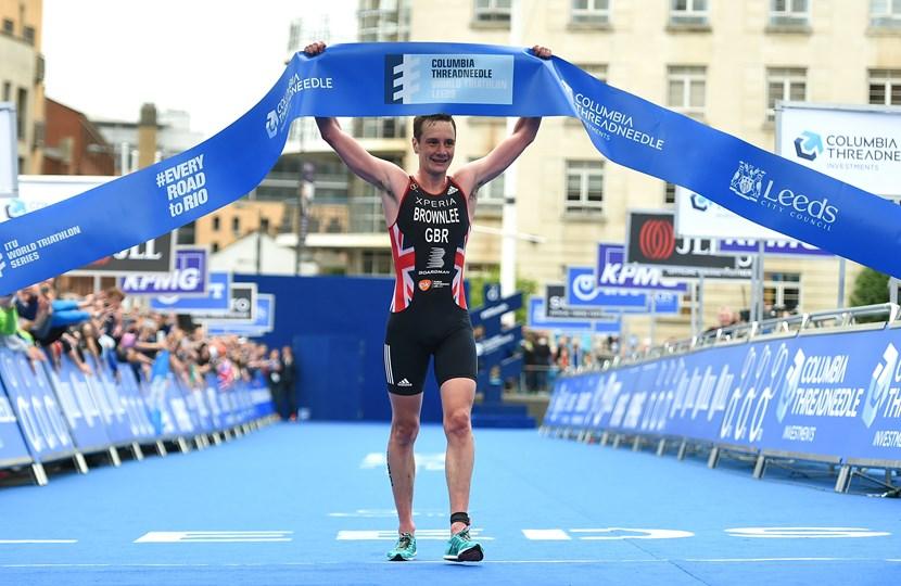ITU World Triathlon Series coming to Leeds and the UK again in 2017: brownleewins.jpg