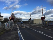 Chettisham level crossing 3