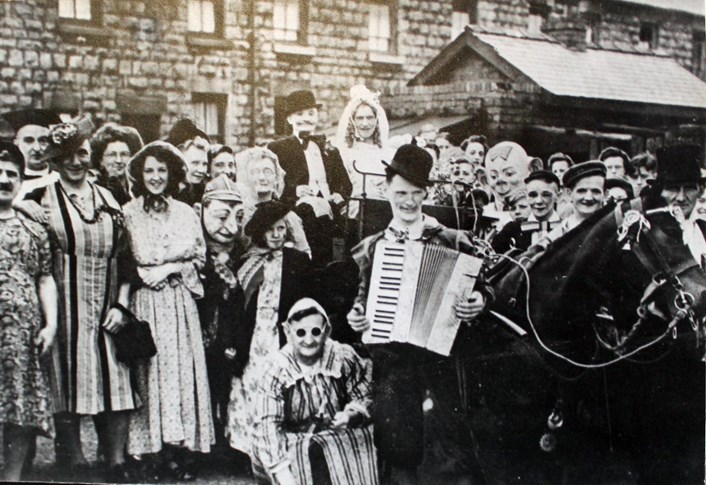 Coal miners dig deep to bring back unusual pit tradition: joshweddingparade.jpg