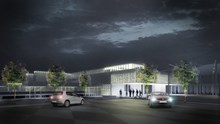 Cambridge station artists impression (2)