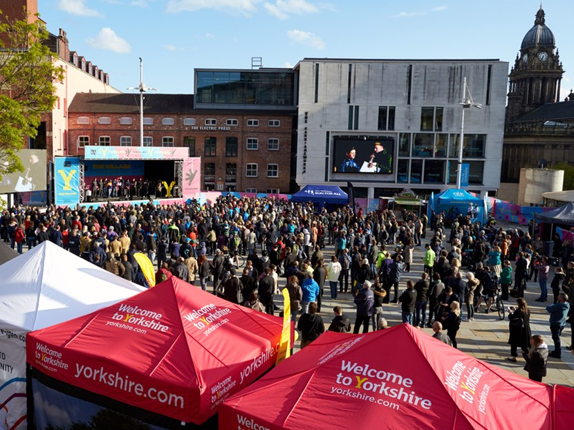 Tour de Yorkshire fan village back in Leeds: the-village-spectator-hub-002-562072.jpg