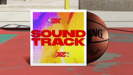 NBA 2K21 Soundtrack Key Art