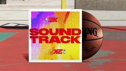 NBA 2K21 Soundtrack Key Art