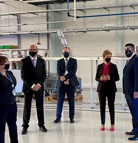 Aerospace innovation centre opens in Prestwick