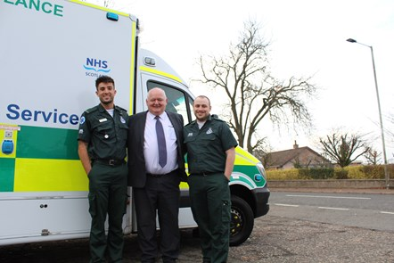 Man who 'died twice' thanks ambulance crew: MAtthew Rooney