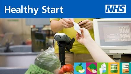 Healthy start - social media graphic