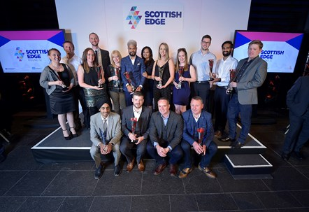 Scottish EDGE Launches a Follow-on Funding Award for its Winners: 2108 Edge Awards - Scottish EDGE Winners