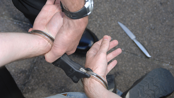 Rising violence and the tragic loss of young lives: Handcuff knife