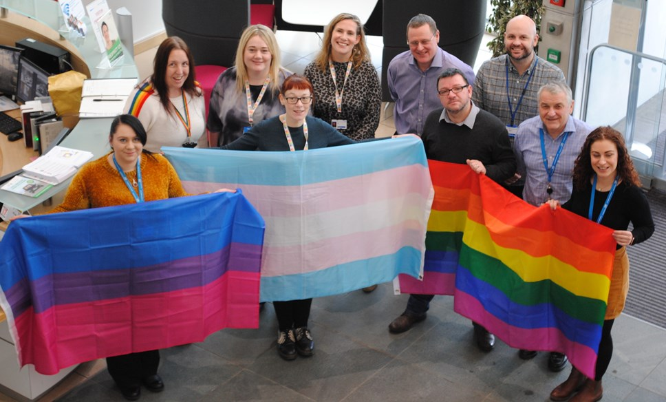 Stonewall names NHSBSA one of Britain's top 100 LGBT employers