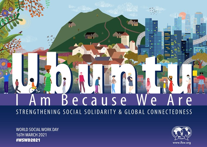 World Social Work Day 2021 Ubuntu logo