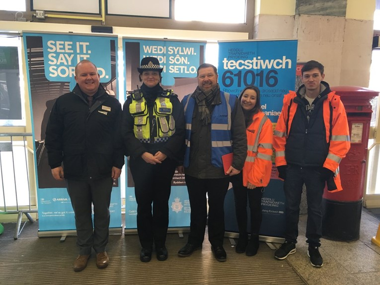 Security Day a great success at Cardiff Central: SecurityDay1