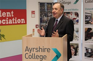 Kilmarnock Campus construction officially underway