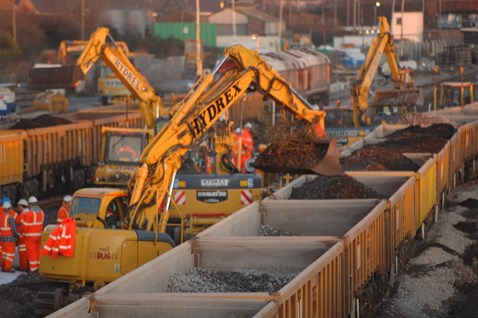 Severn Tunnel Junction revamped during the first phase of £150m re-signalling work in Newport