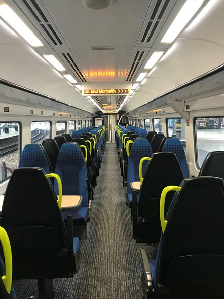 Digital train internal