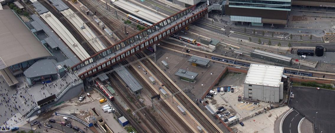 Stratford station congestion relief scheme secures DfT development funding:  MG 7090-2