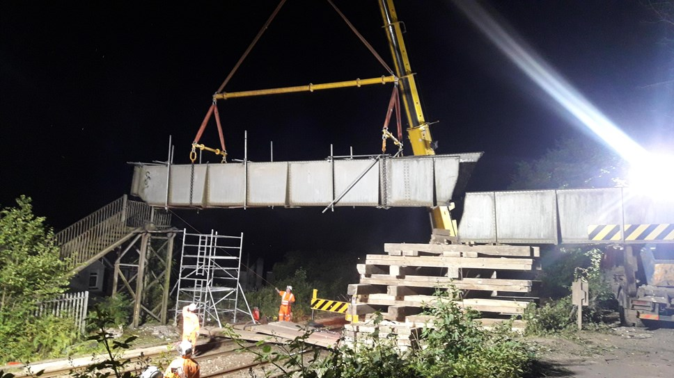Transport for Wales boss reconfirms commitment to rebuild crossing at Ty'n-y-Graig Bridge: pic bridge 2