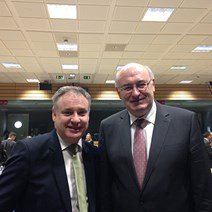 Euro boost for Show: Rural Affairs Secretary Richard Lochhead announced today that the European Commissioner for Agriculture and Rural Development, Phil Hogan, has accepted his invitation to attend this year's Royal Highland Show.