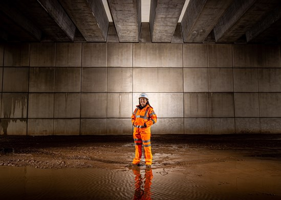 HS2 construction worker stars in 'Railway Heroes' museum exhibition: Lin Qi - Main Image (Option 1)