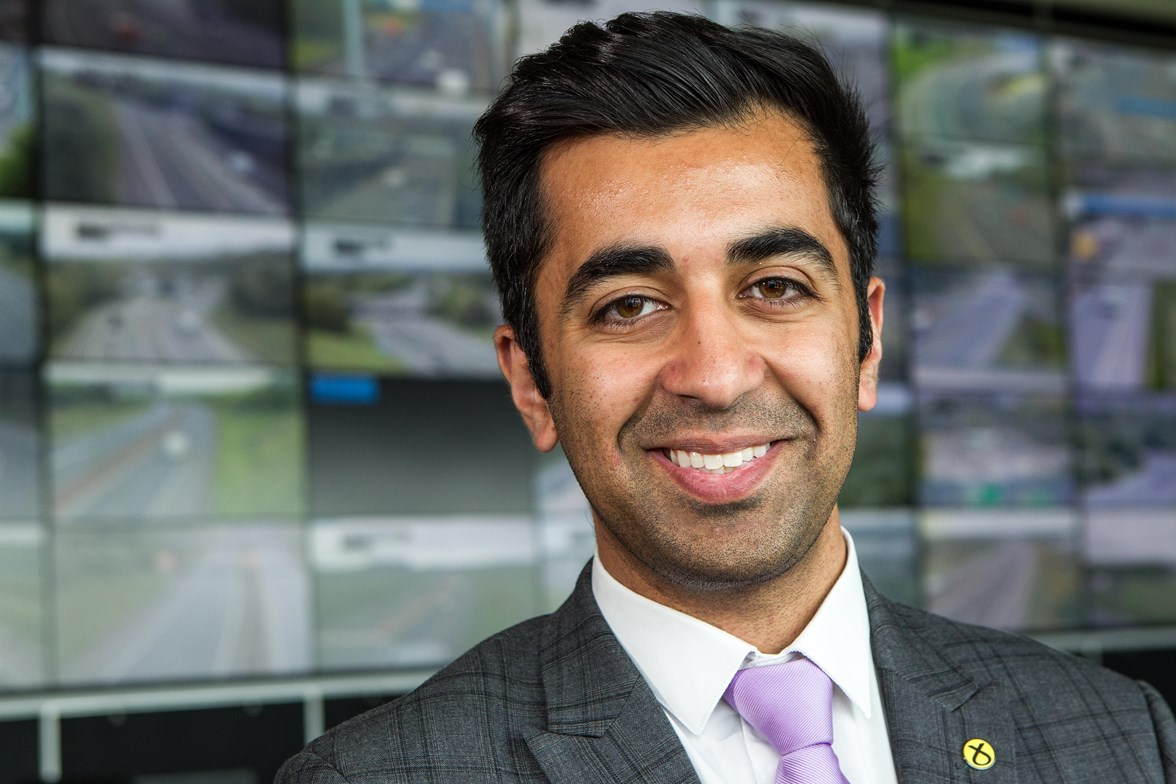 Minister for Transport & Islands, Humza Yousaf