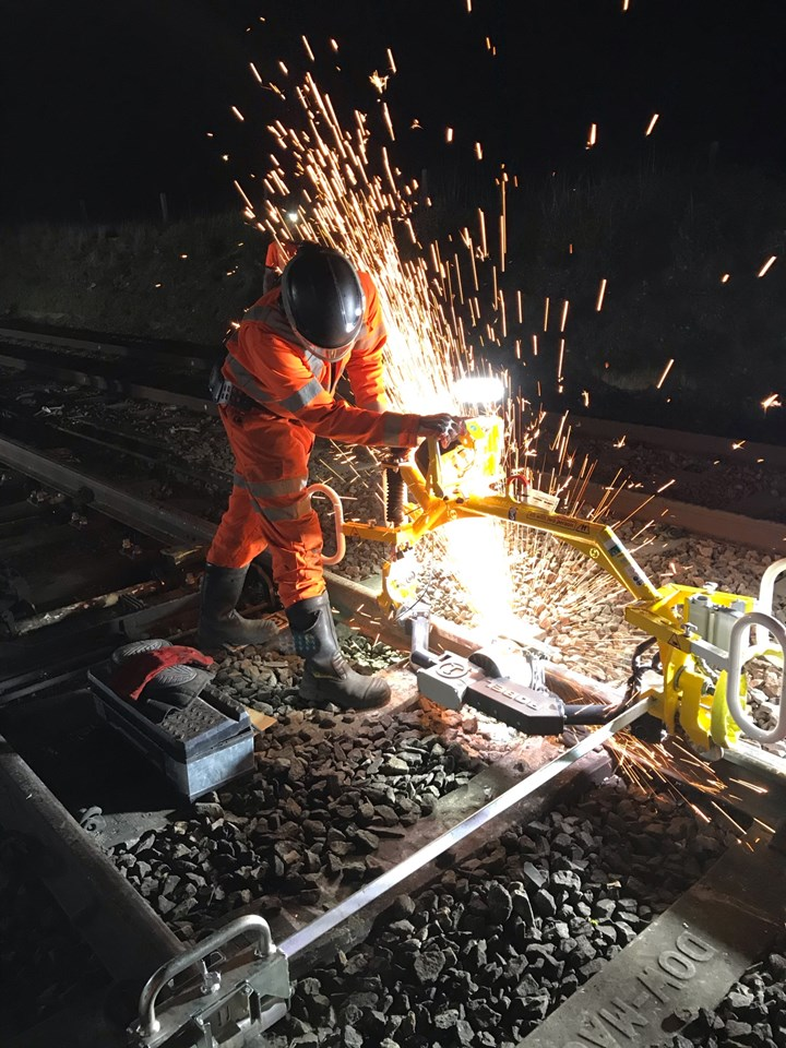 Track upgrades to deliver a more reliable train service between Ipswich to Ely and Cambridge: Anglia track renewals