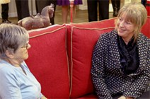 Shona Robison, Health Secretary visits Midlothian care facility