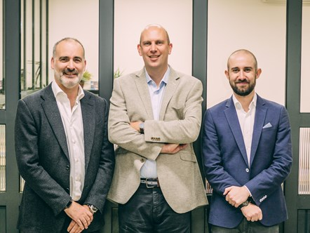 Aforza founders Dominic Dinardo, Ed Butterworth and Nick Eales