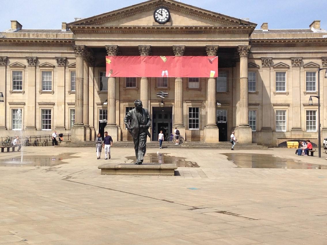 Improvement work starts at Huddersfield station next week: Improvement work starts at Huddersfield station next week