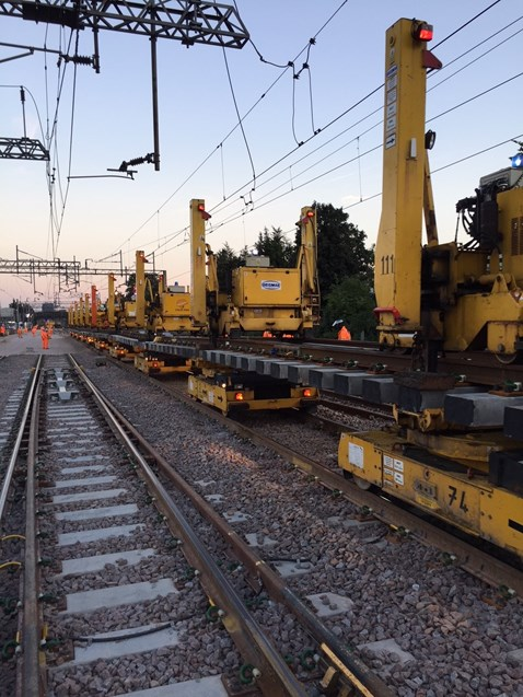 North Wembley junction replacement  1-2 September 4