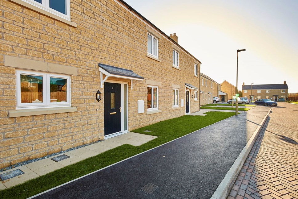 Affordable housing Bury Close dvpt, Kingham