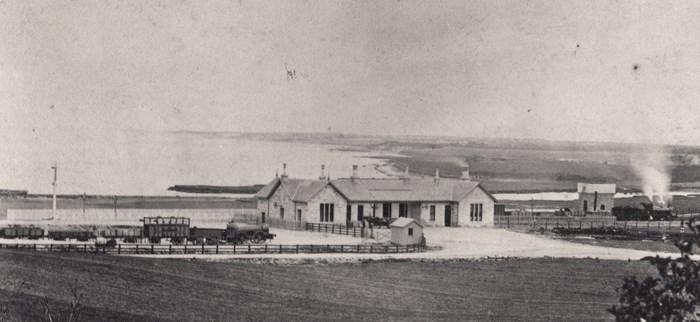 Tain Railway Station c.1864