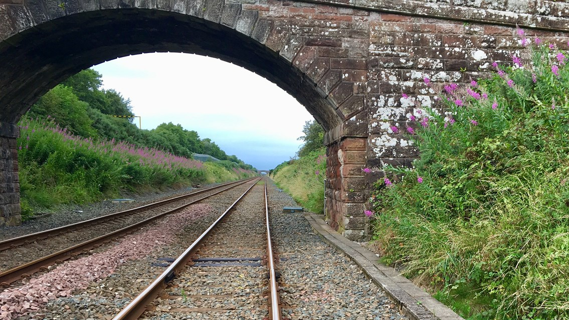Major investment for Cumbria will see improved journeys for passengers and freight: Drigg on the Cumbrian coast line