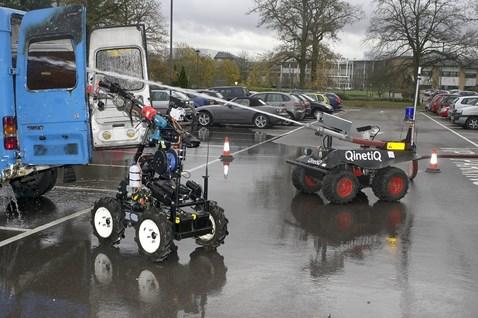 QinetiQ ROV demonstration