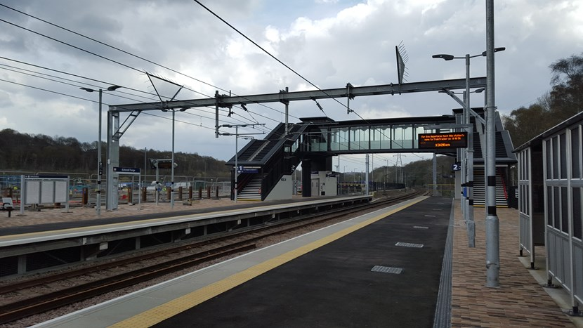 New rail station to open in Leeds this Sunday: kirkstallforge1april2016.jpg