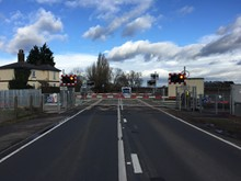 Chettisham level crossing 4
