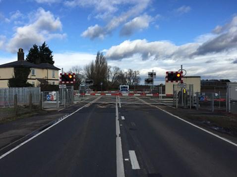 Chettisham level crossing 4