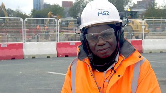 Kevin Williams HS2 labourer